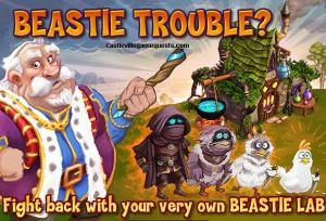 castleville duke quests when beaste attack quest