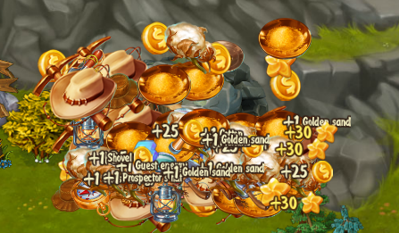 cave rewards