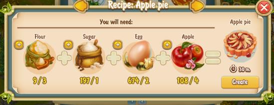 Golden Frontier Apple Pie Recipe