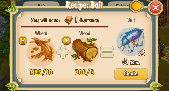 Golden Frontier Bait Recipe
