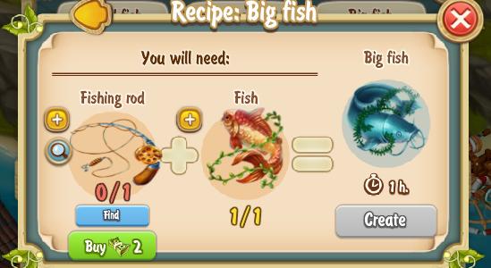 Golden Frontier Big Fish Recipe