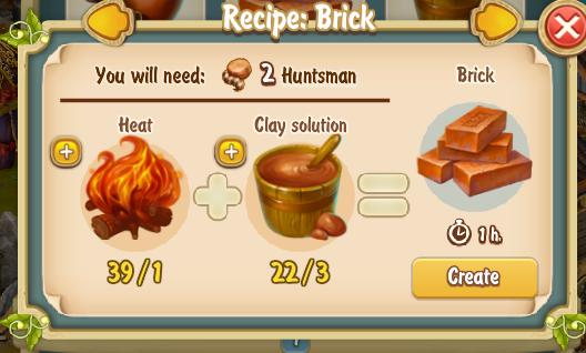 Golden Frontier Brick Recipe