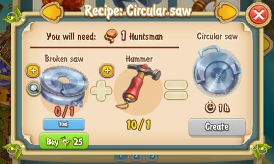 Golden Frontier Circular Saw Recipe