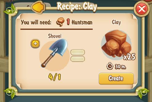 Golden Frontier Clay Recipe