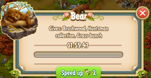 Golden Frontier Collecting from Bear