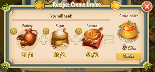 Golden Frontier Creme Brulee Recipe