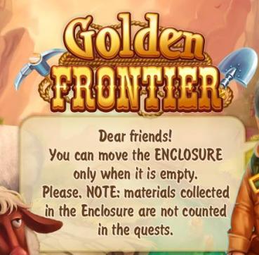 Golden Frontier Enclosure Info