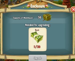 Golden Frontier Enclosure Upgrade