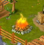 Golden Frontier Fire