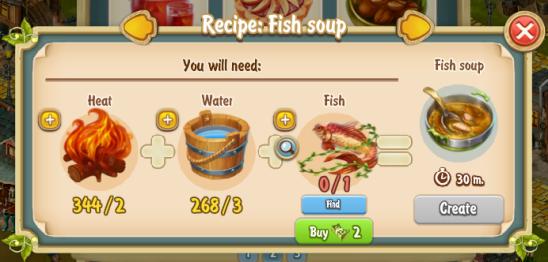 Golden Frontier Fish Soup Recipe
