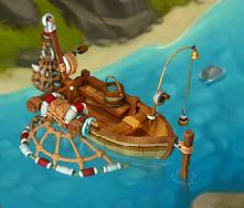 Golden Frontier Fishing Boat