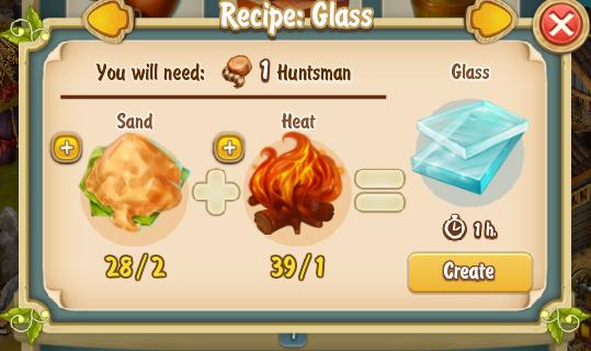 Golden Frontier Glass Recipe