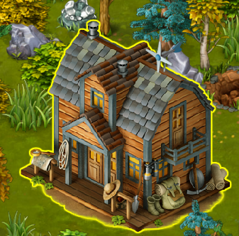 Golden Frontier Guide's Hut