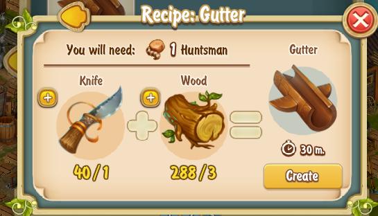 Golden Frontier Gutter Recipe