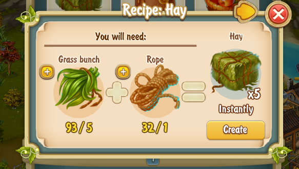 Golden Frontier Hay Recipe
