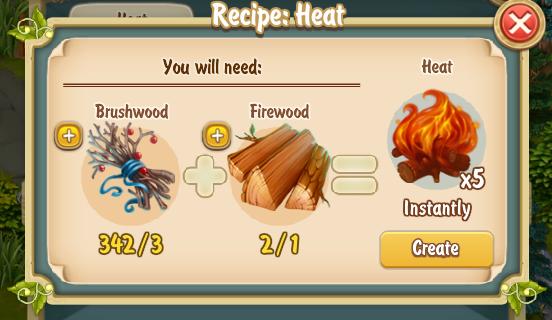 Golden Frontier Heat Recipe