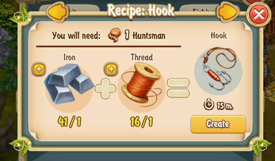Golden Frontier Hook Recipe