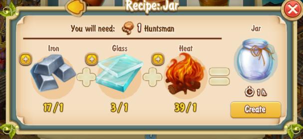 Golden Frontier Jar Recipe