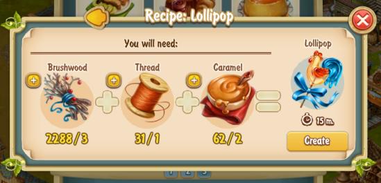 Golden Frontier Lollipop Recipe