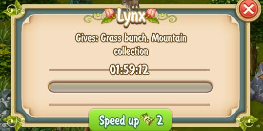 Golden Frontier Lynx Rewards