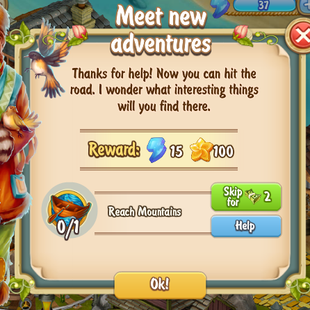 Golden Frontier Meet New Adventures Quest