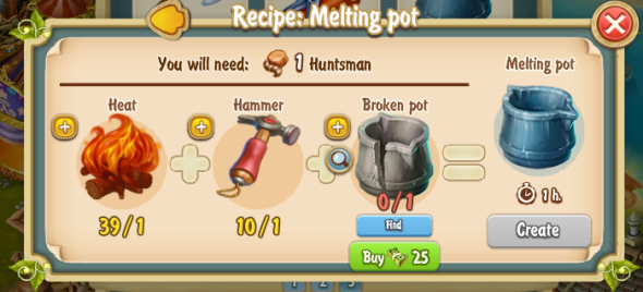 Golden Frontier Melting Pot Recipe