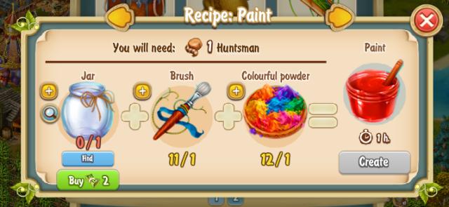Golden Frontier Paint Recipe