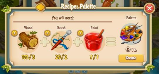 Golden Frontier Palette Recipe