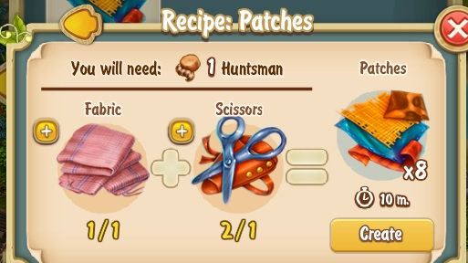 Golden Frontier Patches Recipe