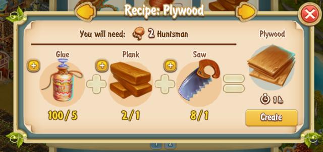 Golden Frontier Plywood Recipe