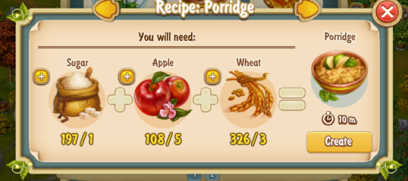 Golden Frontier Porridge Recipe