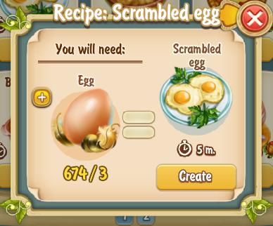 Golden Frontier Scrambled Egg Recipe