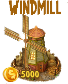 Golden Frontier Windmill