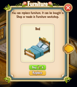 Replace Clyde's Bed