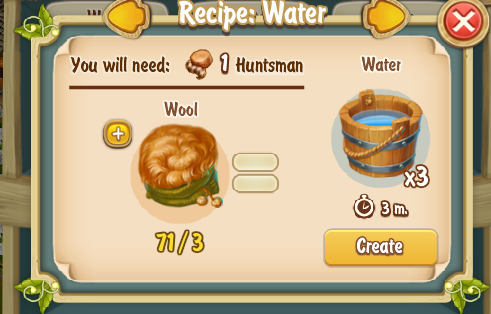 Water Recipe 2