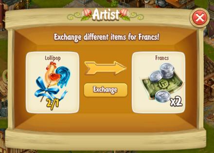 Golden Frontier Artist Exchange Lollipop