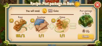 Golden Frontier Barn Post Package
