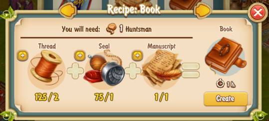 Golden Frontier Book Recipe