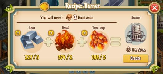 Golden Frontier Burner Recipe