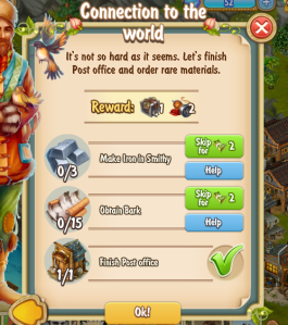 Golden Frontier Connection to the World Quest