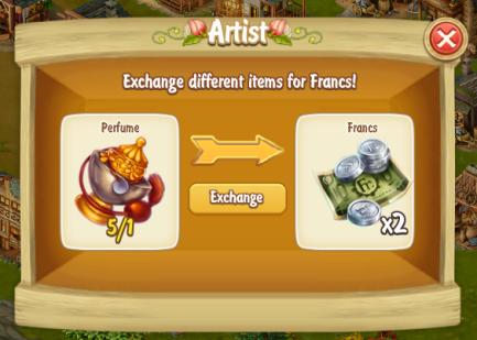 Golden Frontier Exchange Coffee Set