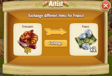 Golden Frontier Exchange Croissants