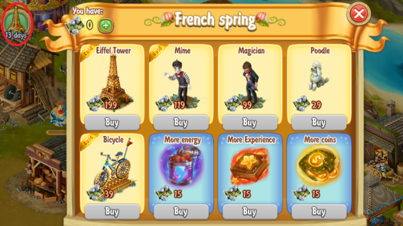 Golden Frontier French Spring