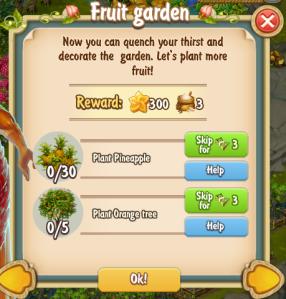 Golden Frontier Fruit Garden Quest