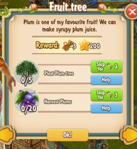 Golden Frontier Fruit Tree Quest
