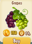 Golden Frontier Grapes