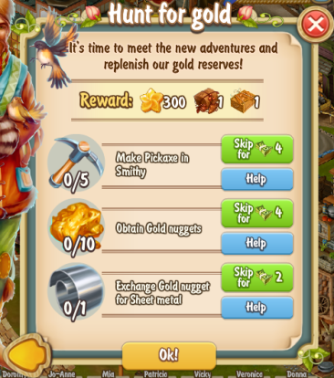 Golden Frontier Hunt for Gold Quest