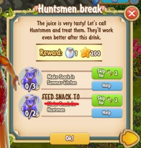 Golden Frontier Huntsmen Break Quest