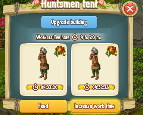 Golden Frontier Increase Worktime