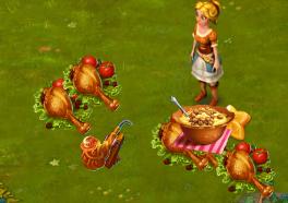 Golden Frontier Kitchen Post Reward